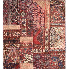 Tappeto Patchwork persia 194x214 cm