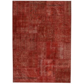 Tappeto Patchwork Turco Red